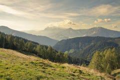 Dachstein视图 免版税库存照片