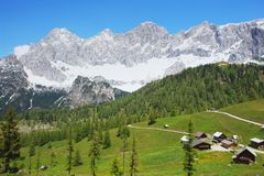 Dachstein, Austria Royalty Free Stock Photography
