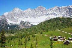 Dachstein, Austria. Dachstein Mountain in the Austrian Alps, Austria Royalty Free Stock Photography