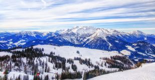 dachstein austrian alps Royalty Free Stock Photography