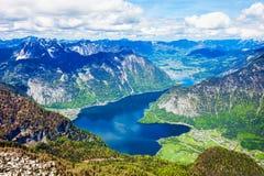 Dachstein berg i Österrike Royaltyfria Bilder