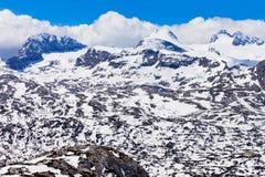 Dachstein berg i Österrike Royaltyfri Fotografi