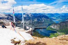 Dachstein berg i Österrike Royaltyfri Bild