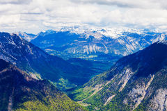 Dachstein berg i Österrike Fotografering för Bildbyråer
