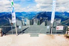 Dachstein-Berge in Österreich Stockbild