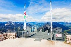 Dachstein-Berge in Österreich Lizenzfreies Stockfoto