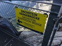 Dachstein-Gletscher, Steiermark/Österreich - 13. September 2016: Name Stockbilder