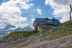 Dachstein-Häuschen Stockbilder