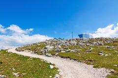 Dachstein-Krippenstein, path to the World Heritage Spiral Royalty Free Stock Photos
