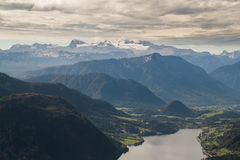 Dachstein massif Royalty Free Stock Photo