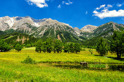 Dachstein Mountain Stock Photo