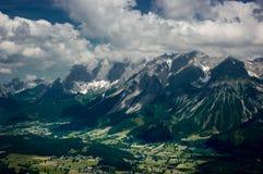 Dachstein mountain range. Stock Photo