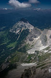 Dachstein mountain range. Stock Images