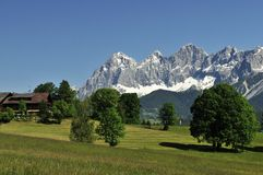 Dachstein Mountains Stock Image