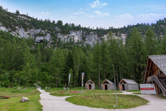 Dachstein muzeum, jama zdjęcia stock