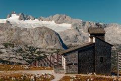 Dachstein panorama od wschodu zdjęcia stock