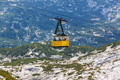 Dachstein Ropeway Gondola Royalty Free Stock Images