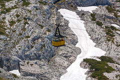Dachstein Ropeway Gondola Royalty Free Stock Photography