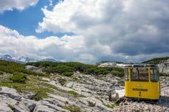 Dachstein Ropeway Gondola Stock Image