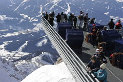 Dachstein Skywalk Stock Afbeelding