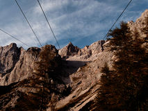 Dachstein south wall Royalty Free Stock Photo