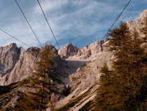 Dachstein south wall Royalty Free Stock Photos