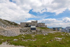 Dachstein Summit Station Royalty Free Stock Images
