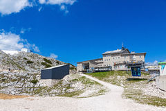 Dachstein Summit Station Stock Photo