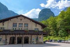 Dachstein-Talstation Stockfoto