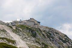 Dachstein toppmötestation Royaltyfri Bild