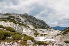 Dachstein toppmötestation Arkivbilder
