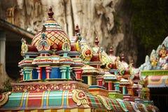 Dachstuhl von Batu-Höhlen, Malaysia Stockfotos