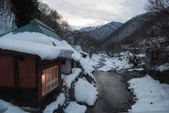 Dachu śnieg Fotografia Stock