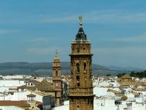Dachu widok Antequera Obrazy Stock