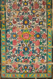 Dachówkowy panel, Khan medrese, Shiraz, Iran Obraz Stock