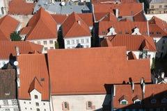 dachy Zdjęcie Stock
