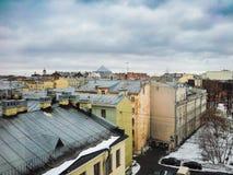 Dachy domy Zdjęcie Stock