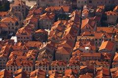 Dachy Dubrovnik obraz royalty free