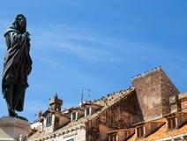 Dachy Dubrovnik/Croatia/Dalmatia/Ragusa, holiday/tourists/lata słońce/ zdjęcia stock