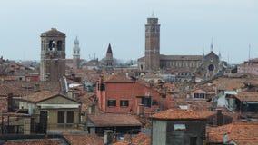 Dachy i kopuły Wenecja Zdjęcia Stock