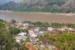 Dachy Luang Prabang Zdjęcia Stock