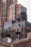 Dachy miasto Nowy Jork, usa Zdjęcie Stock