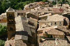 Dachy Provence miasteczko Obrazy Royalty Free