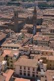 Dachy starzejący się miasto Zdjęcia Stock