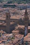 Dachy starzejący się miasto Obraz Stock