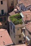 Dachy starzejący się miasto Fotografia Royalty Free