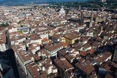 Dachy starzejący się miasto Obrazy Stock
