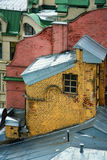 Dachy starzy budynki Obraz Royalty Free