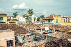 Dachy Trinidad Obrazy Stock