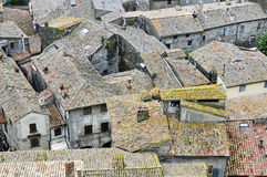dachy Tuscany obraz royalty free